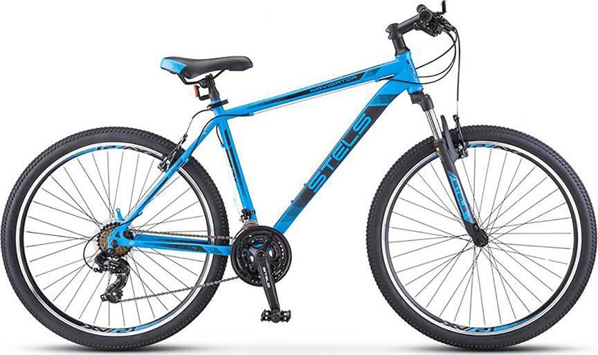 Велосипед Stels Navigator 700 V V010 Синий 27.5 (LU088691), 19'