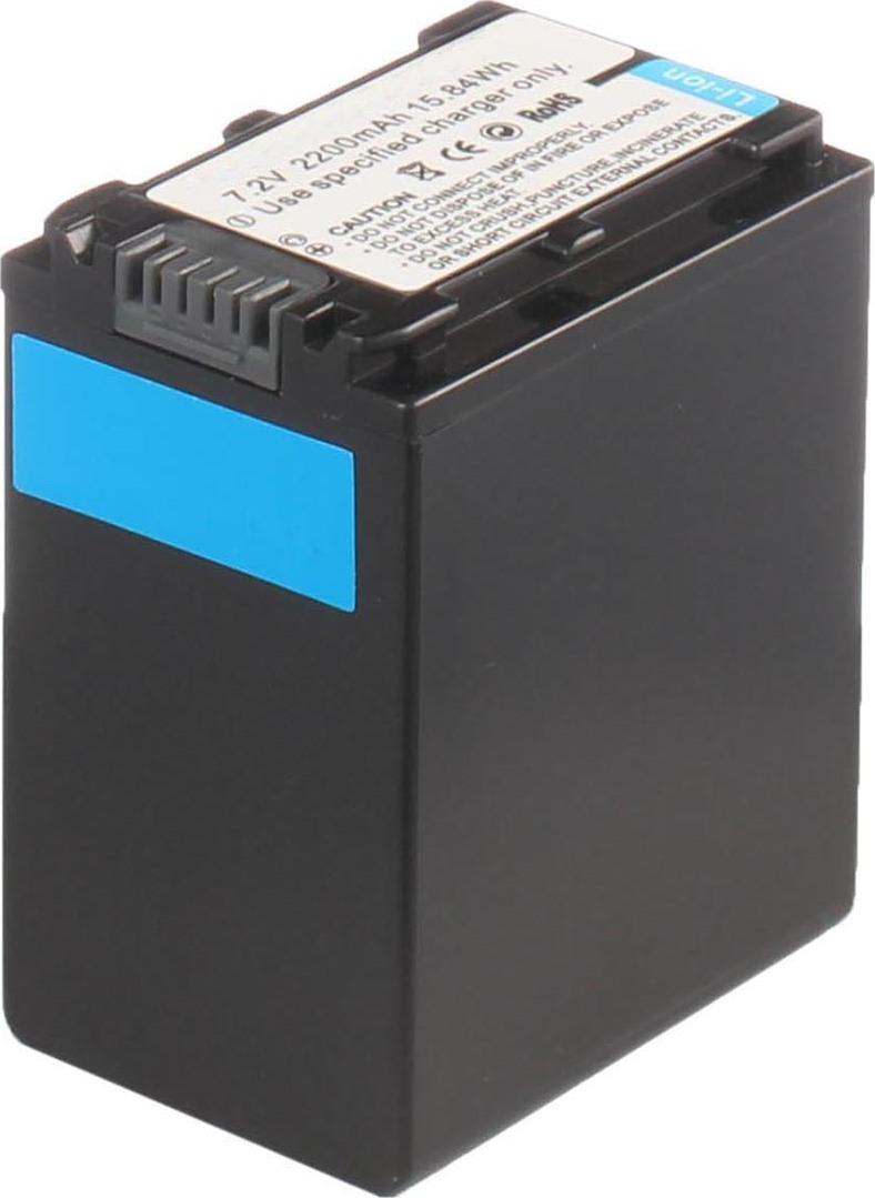 Аккумуляторная батарея iBatt iB-T2-F300 2200mAh для камер Sony HDR-CX110, HDR-XR150E, HDR-PJ10E, NEX-VG30EH, DCR-SX63, NEX-VG10E, DCR-SX20E, HDR-CX350E, HDR-XR150, HDR-CX320E, DCR-SX63E, HDR-CX200, HDR-HC9E, DCR-SX21E, HDR-CX210E, NEX-VG10, DCR-SX85E,