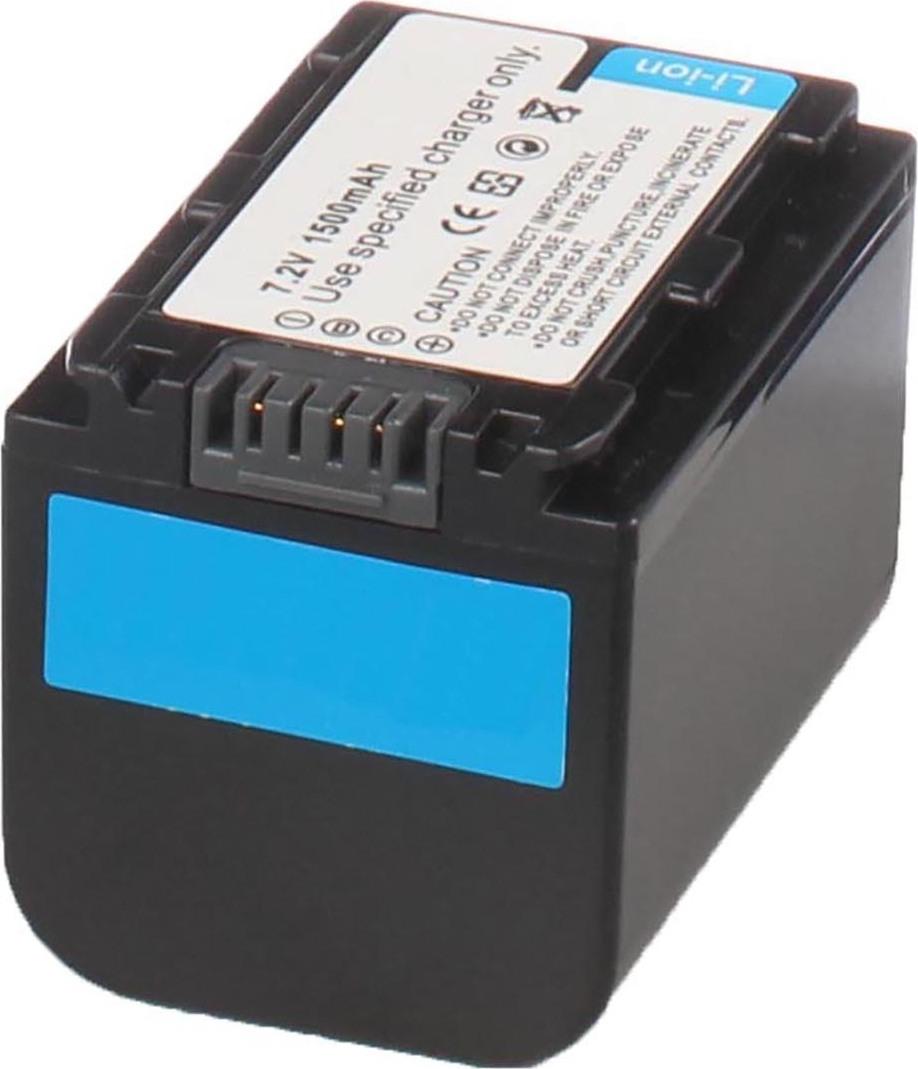 Аккумуляторная батарея iBatt iB-T3-F284 1300mAh для камер Sony HDR-TG5E, DCR-SR62E, DCR-SR85E, HDR-XR520E, HDR-CX7EK, DCR-HC52E, DCR-HC62E, DCR-HC48E, HDR-CX12E, HDR-SR7E, DCR-DVD610, HDR-UX5E, DCR-DVD710, DCR-SR300E, DCR-DVD108, DCR-SX60, DCR-DVD109,