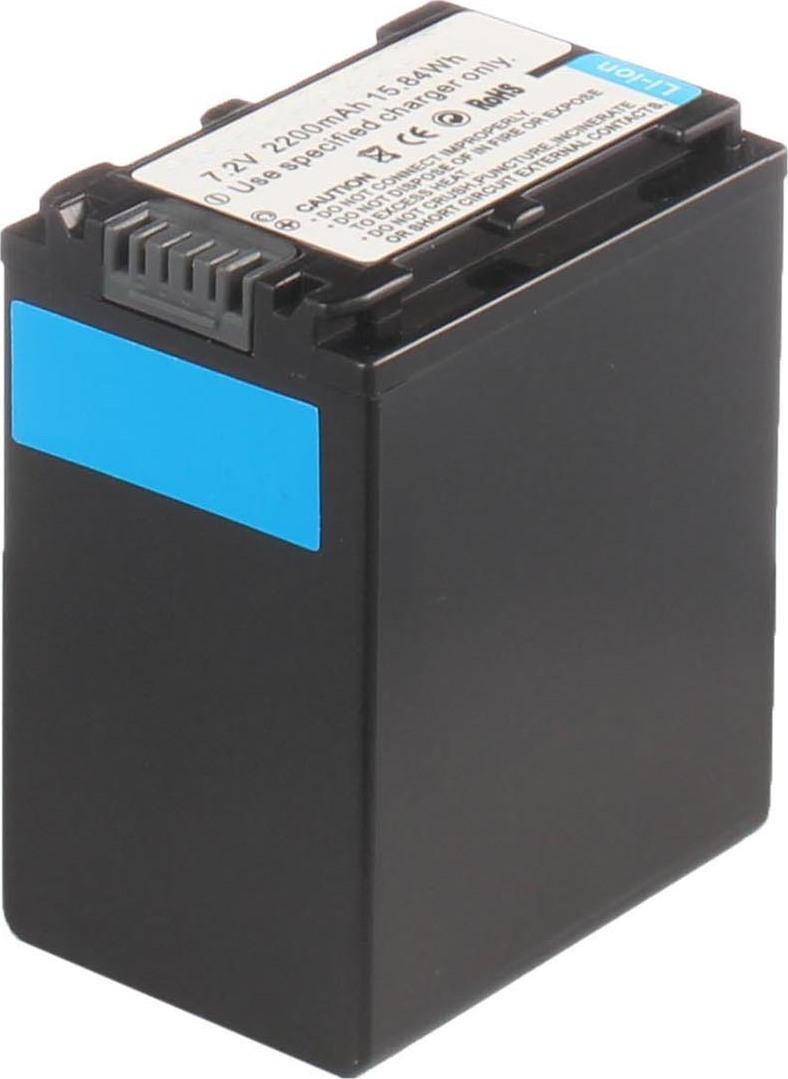 Аккумуляторная батарея iBatt iB-T4-F300 2200mAh для камер Sony HDR-XR260VE, DCR-SX83E, HDR-CX550, HDR-CX740E, HDR-XR160E, HDR-CX150E, HDR-TD10E, HDR-XR260E, DCR-SX83, HDR-CX260E, HDR-PJ420E, HDR-XR350, HDR-CX160E, HDR-CX260VE, HDR-CX350, HDR-XR100,