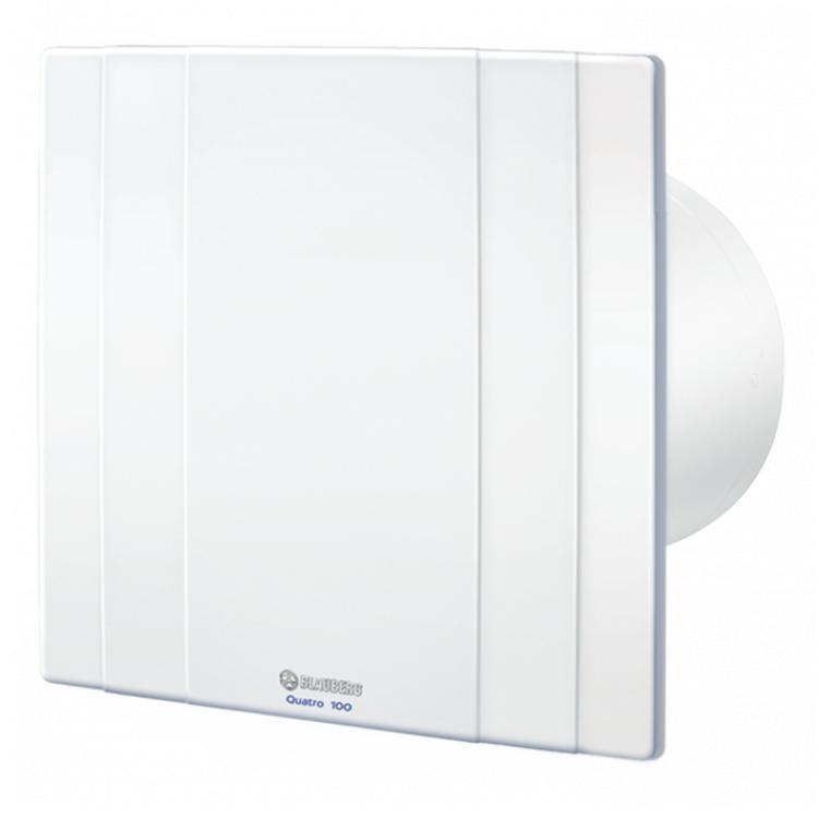 Вытяжка для ванной диаметр 100 мм Blauberg Quatro 100T Используется не только для вентиляции воздуха, и очистки...
