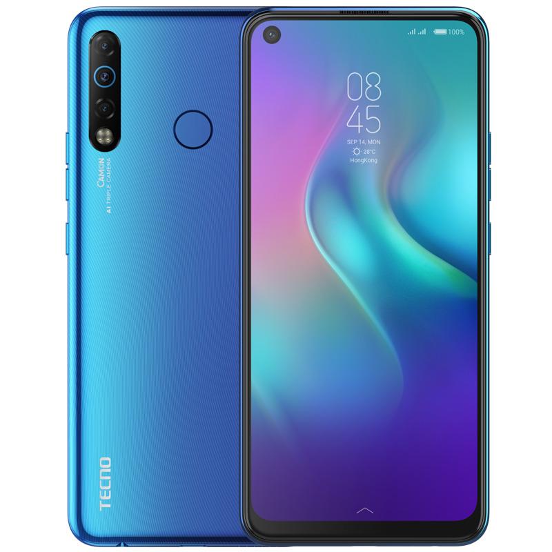Смартфон Tecno Camon 12 Air 3/32GB, голубой