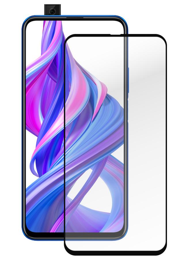 Защитное стекло Full Glue для Huawei Honor 9X/ 9X Pro/ 9A, черный