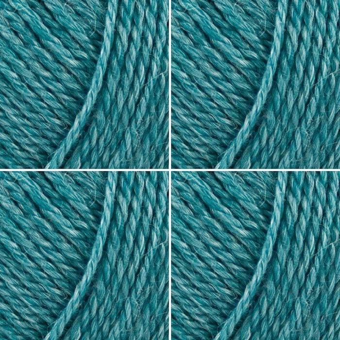 Пряжа No. 4 Organic Wool+Nettles (Органическая Шерсть+Крапива) 2 шт.