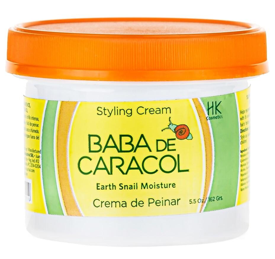 Baba De Caracol Восстанавливающий крем из Доминиканы для укладки волос без сульфата,142 г
