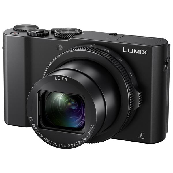 Фотоаппарат компактный премиум Panasonic DMC-LX15EE-K Black