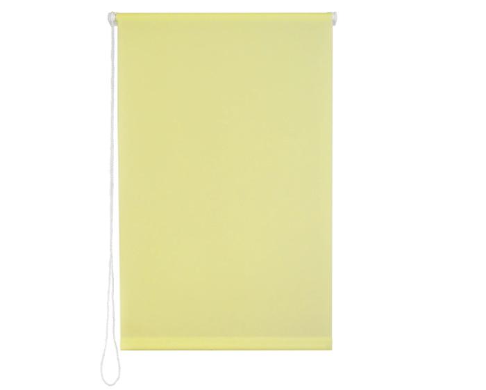 Штора рулонная 70х160 см цвет желтый-20429