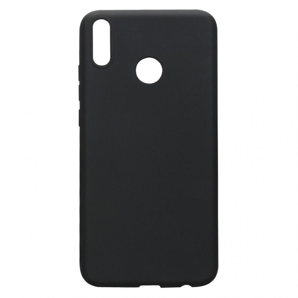 Силиконовый чехол для Huawei Honor 8X, накладка, черный