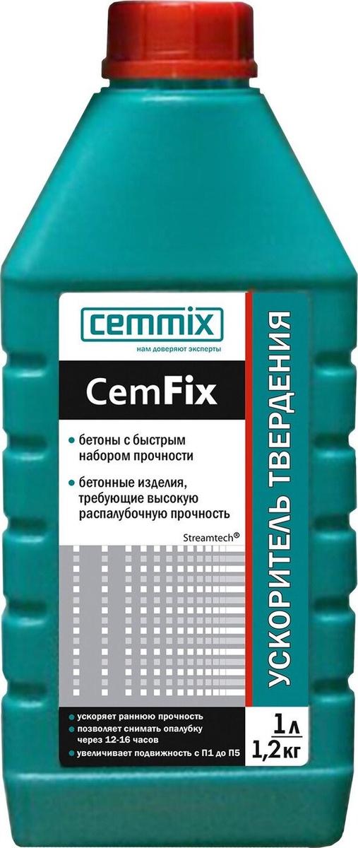 Ускоритель твердения Cemmix #1