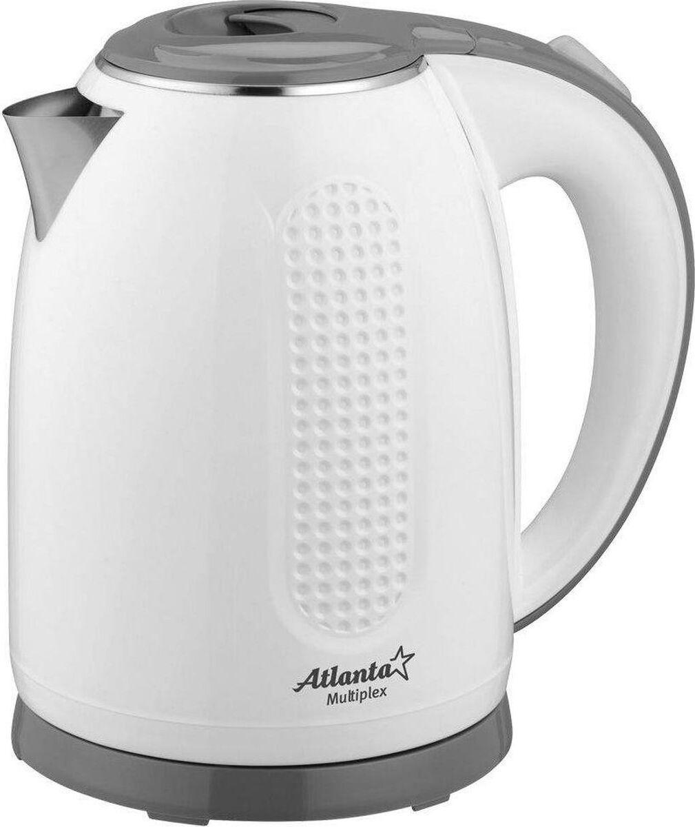 Электрический чайник Atlanta ATH-2427, белый #1