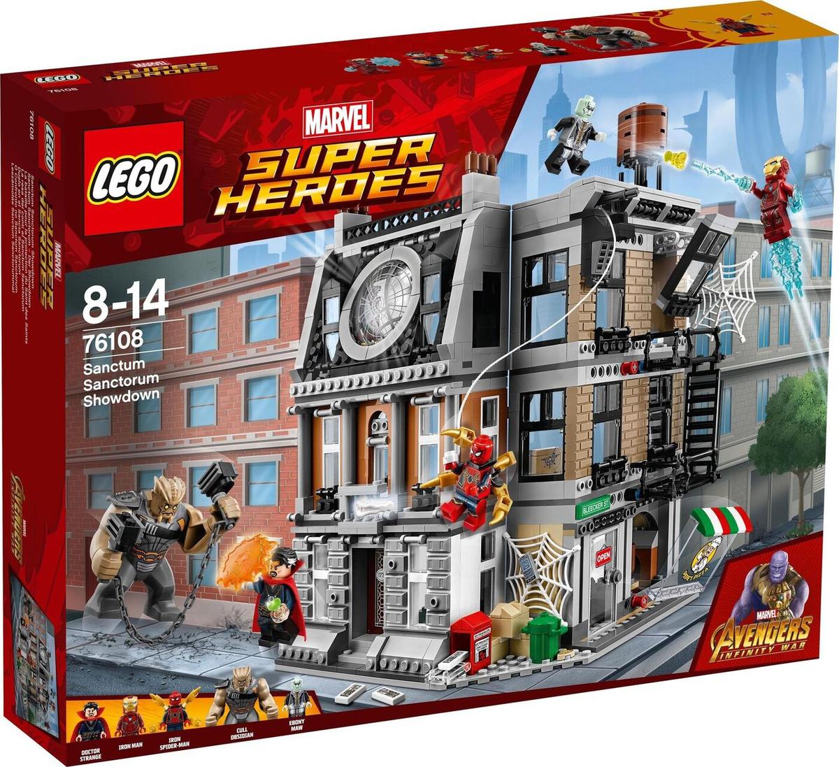 Конструктор LEGO Marvel Super Heroes 76108 Решающий бой в Санктум Санкторум  #1