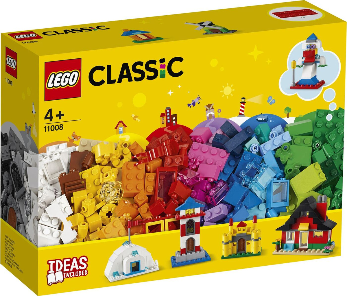 Конструктор LEGO Classic 11008 Кубики и домики #1