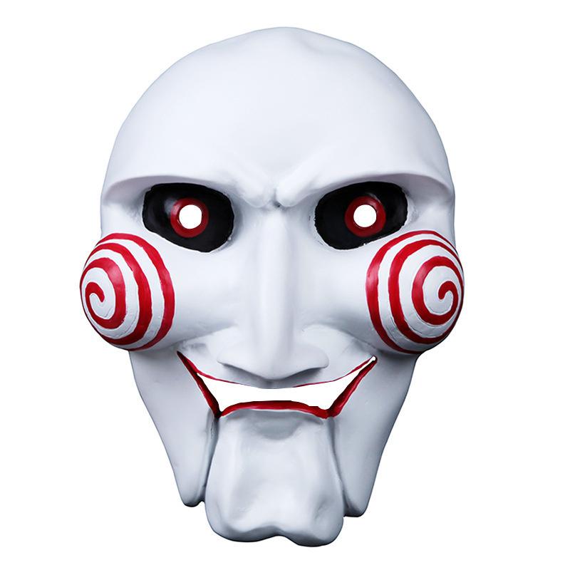 """Маска карнавальная от Бестселлер из фильма """"Пила"""", хоррор маска куклы Билли. На маскарад и праздник. #1"""