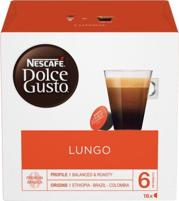 Кофе в капсулах Nescafe Dolce Gusto Lungo, 16 шт #1