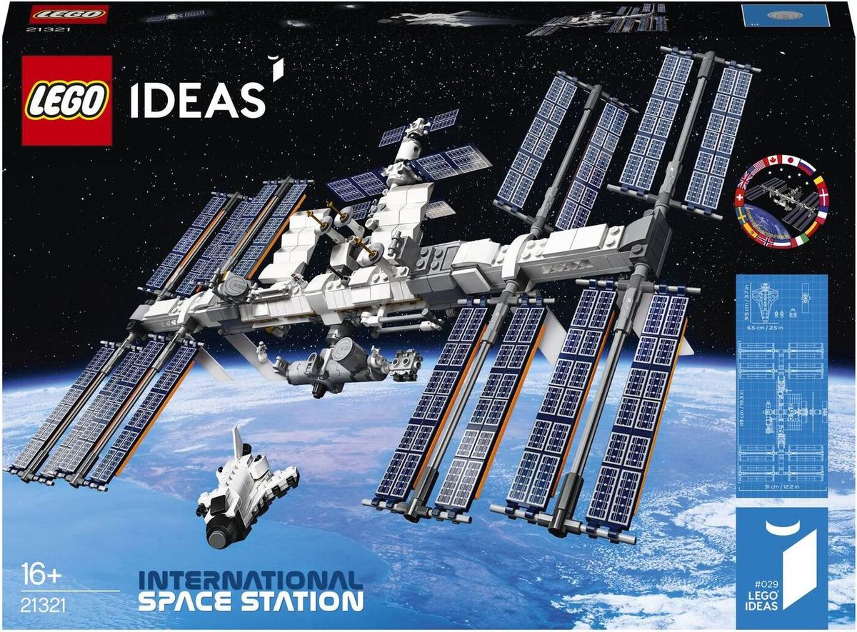 Конструктор LEGO Ideas 21321 Международная Космическая Станция  #1