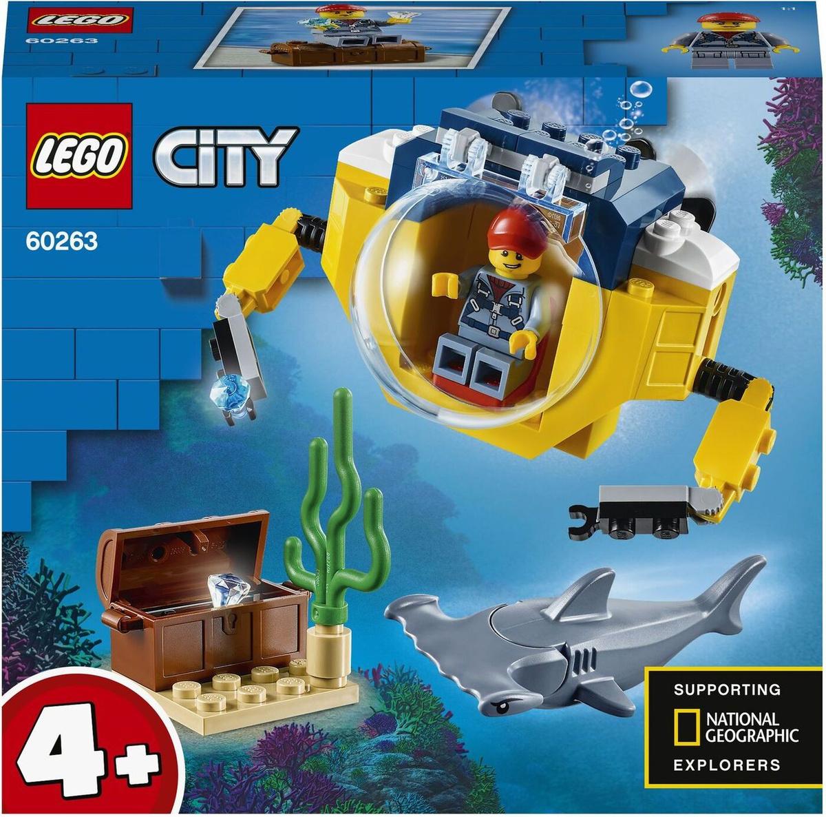 Конструктор LEGO City Oceans 60263 Океан: мини-подлодка #1