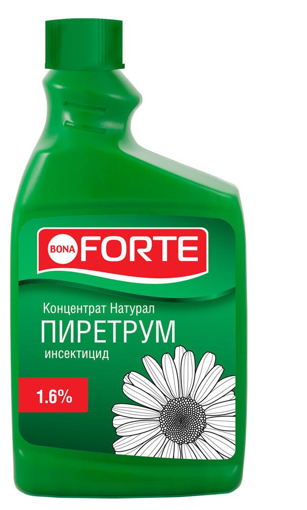 Инсектицид концентрат Bona Forte от насекомых на 200 литров натуральный пиретрум, 1 л.  #1