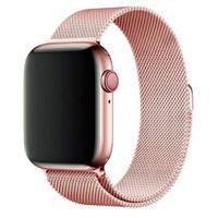 """Умные часы Barda Goose Смарт-часы W26 Plus / Smart watch W26+ IWO с активным колесиком + металлический ремешок """"Миланская петля"""", 44mm, Розовый. Гаджеты для спортсменов"""