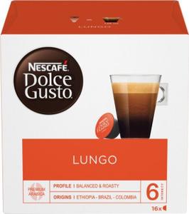 Кофе в капсулах Nescafe Dolce Gusto Lungo, 16 шт. Вместе дешевле!