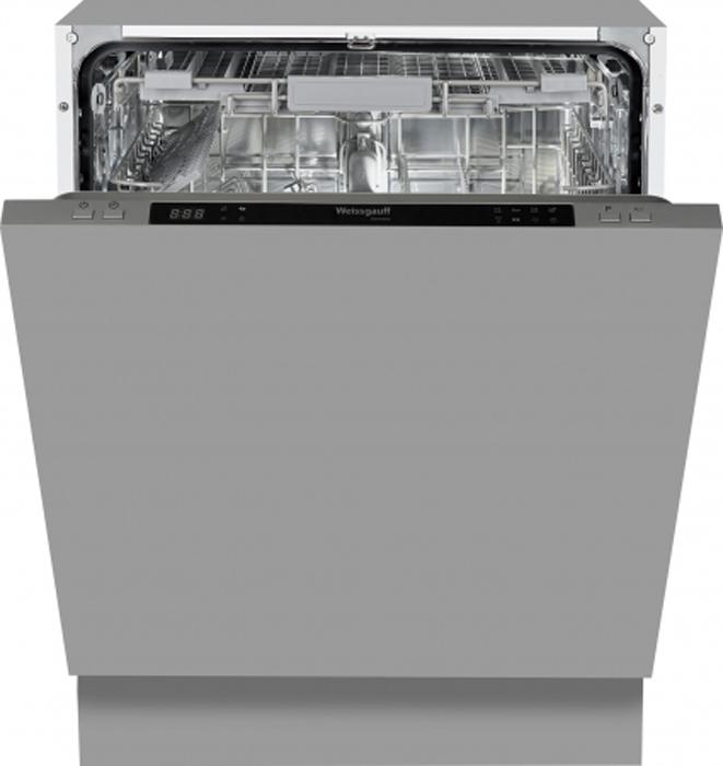 лучшая цена Посудомоечная машина Weissgauff BDW 6083 D, встраиваемая, серый