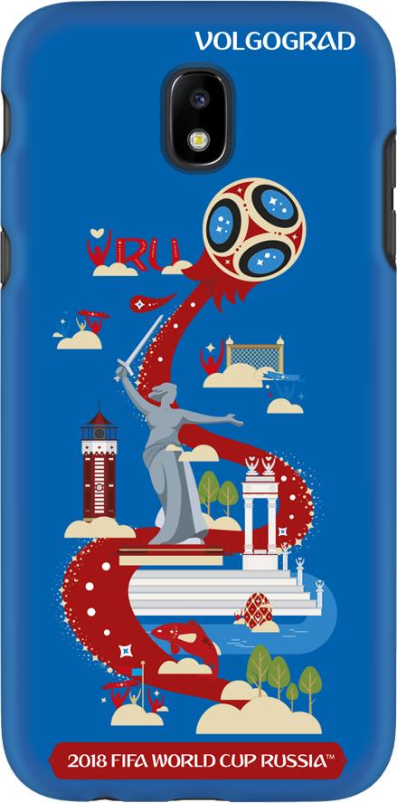 Фото - Чехол TPU для Samsung Galaxy J5(2017), FIFA Volgograd, Deppa чехол perfeo для samsung j5 2017 tpu зеленый pf 5311
