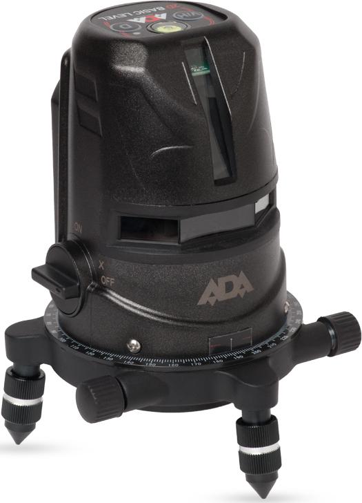 Уровень лазерный автоматический ADA 2D Basic Level цены