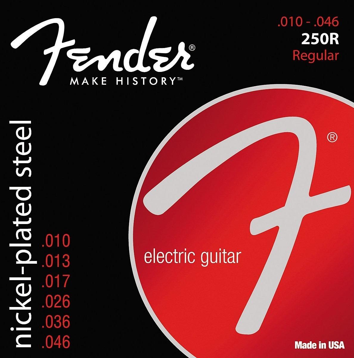 FENDER STRINGS 250R струны для электрогитары, 10-46 цены онлайн