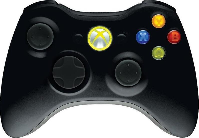 Геймпад XBOX 360 Wireless Controller - Black