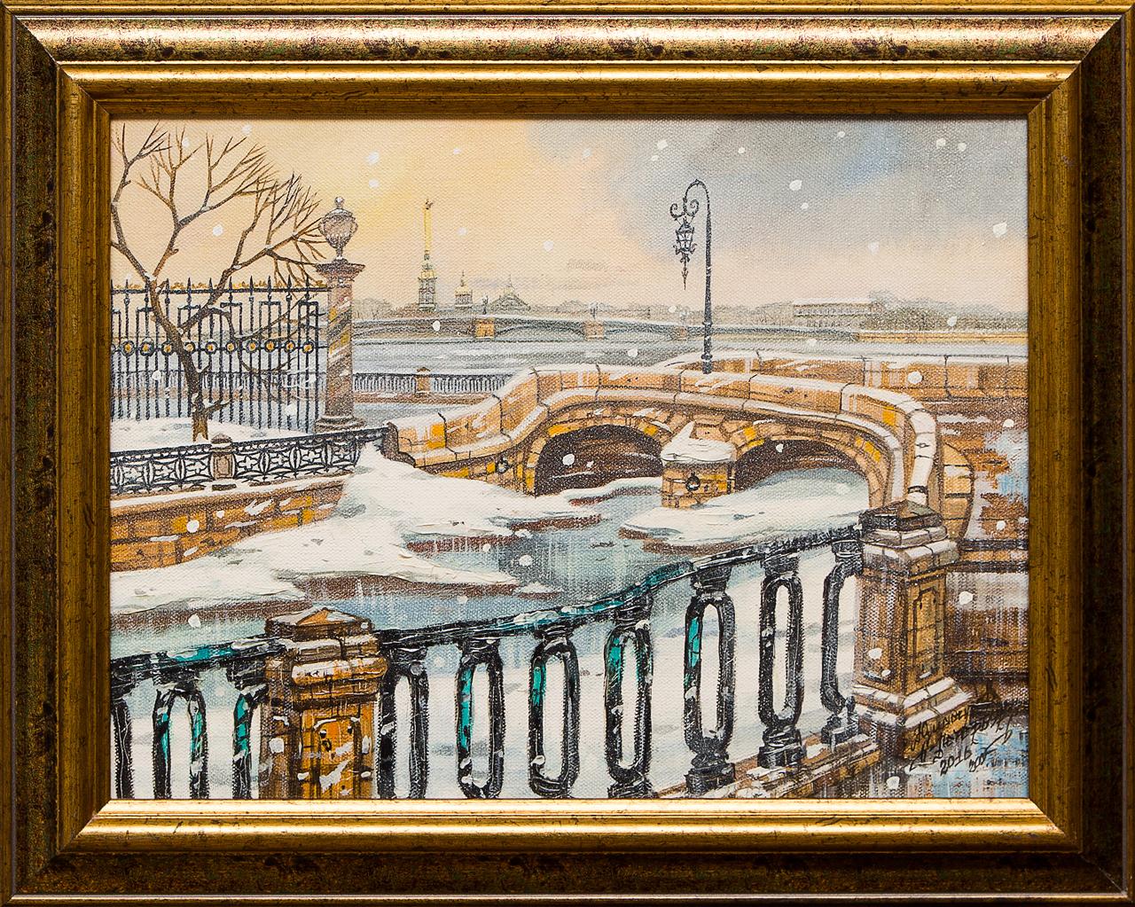 Картина маслом Петропавловская крепость Юмадилов printio петропавловская крепость