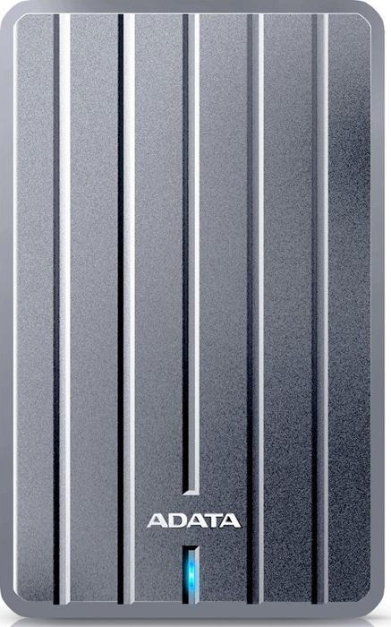 Внешний жесткий диск 1Tb ADATA HC660 Grey, AHC660-1TU31-CGY ahc660 2tu3 cgy