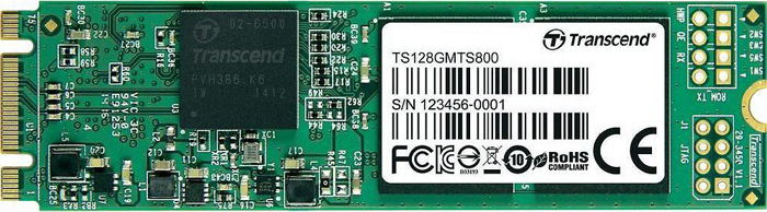 SSD накопитель Transcend MTS800 128GB, TS128GMTS800 внешний твердотельный диск ssd transcend esd400