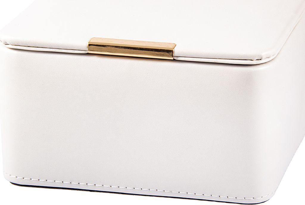 Шкатулка для украшений Calvani, 84822, белый, 16 х 13 х 9 см