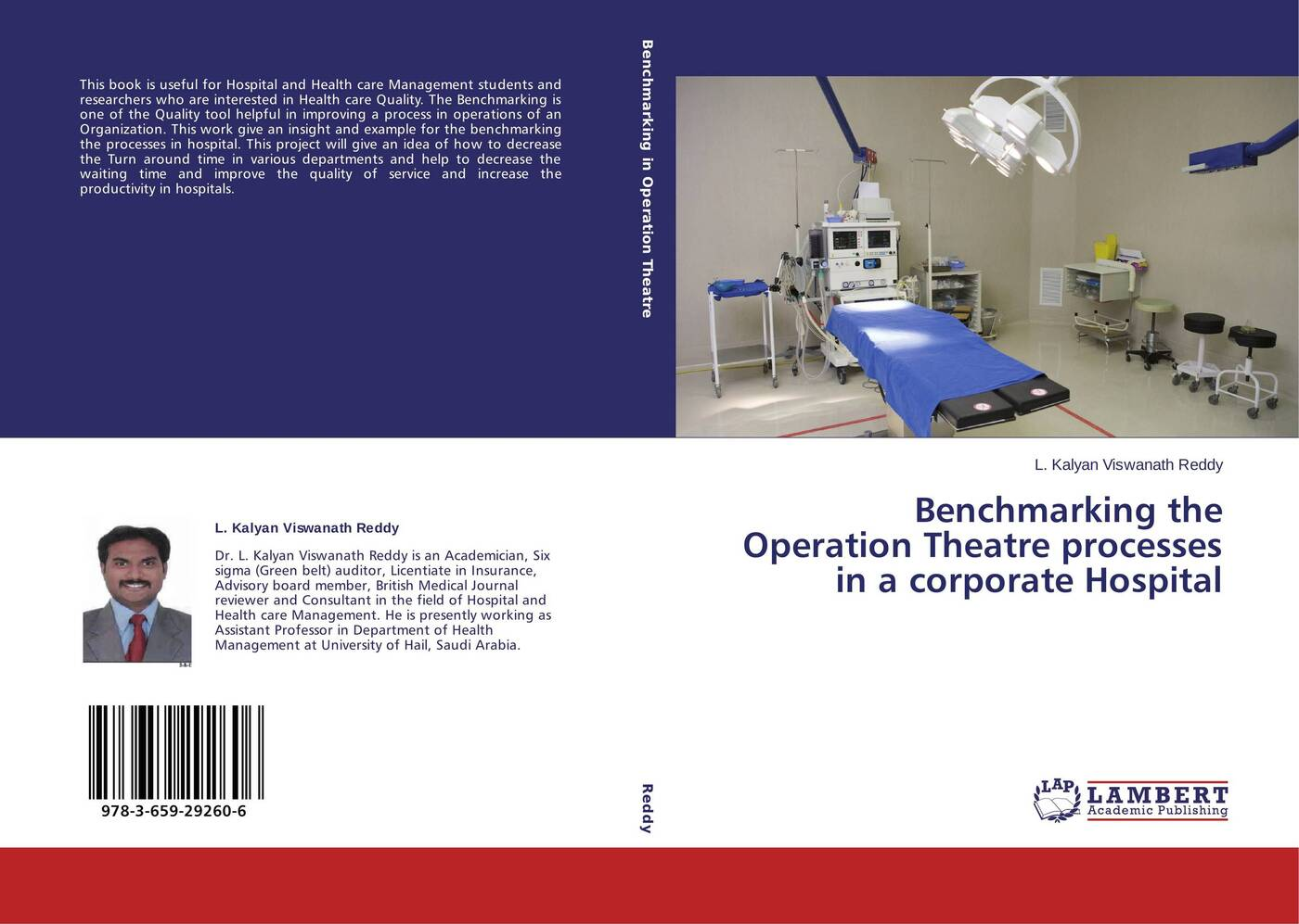 L. Kalyan Viswanath Reddy Benchmarking the Operation Theatre processes in a corporate Hospital felix j palma the map of time and the turn of the screw
