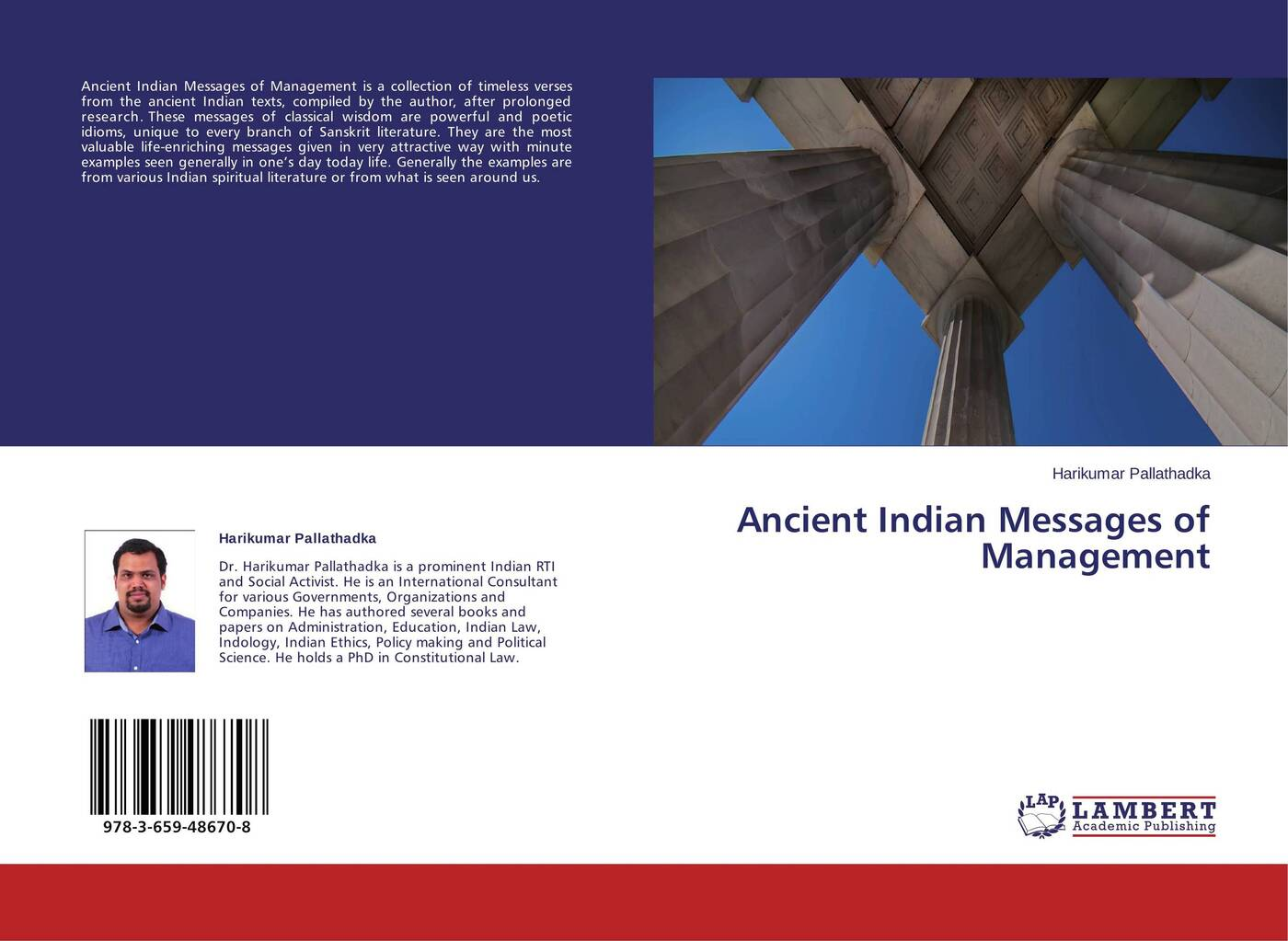 Harikumar Pallathadka Ancient Indian Messages of Management ancient indian study on mind