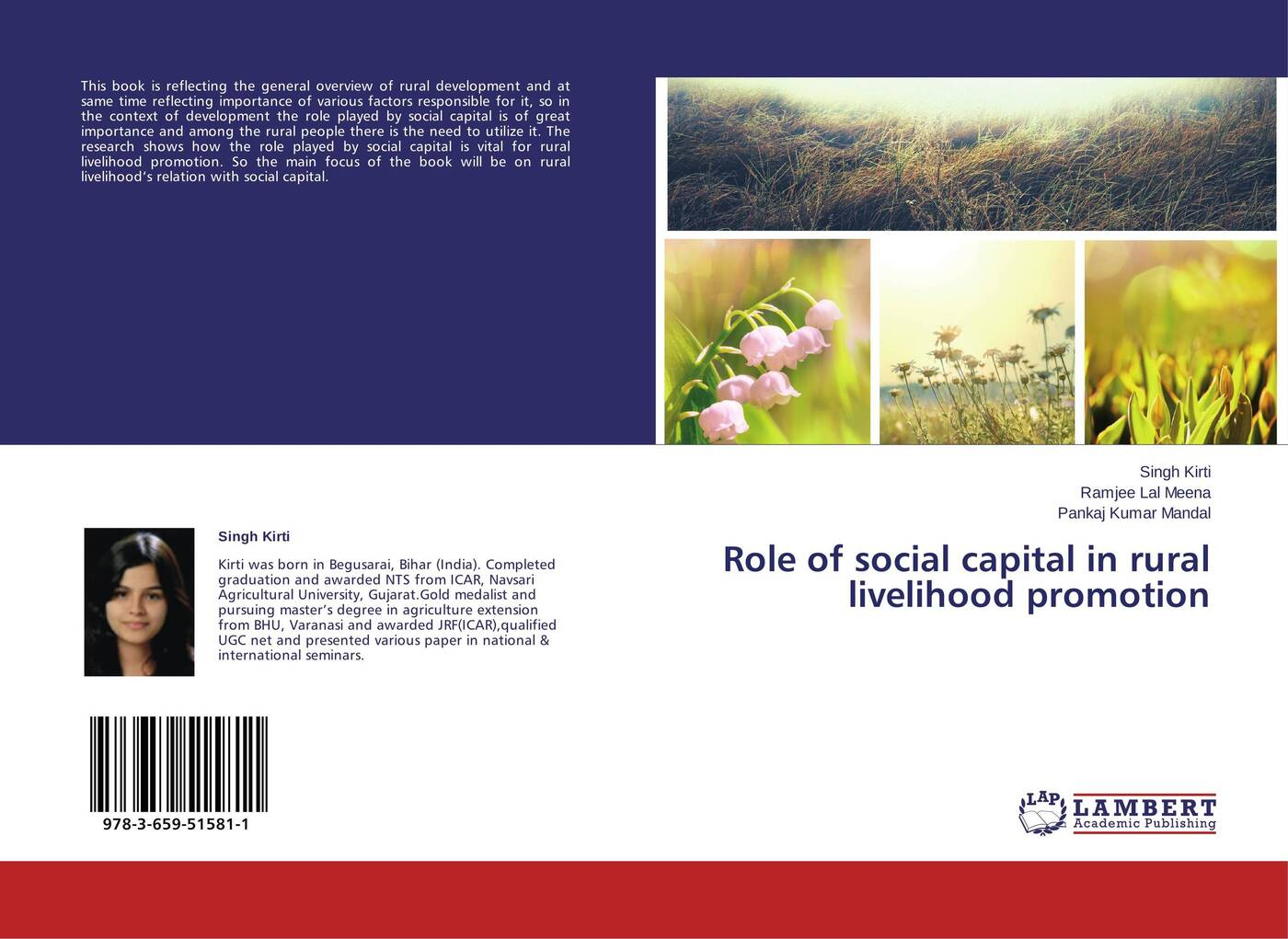 Singh Kirti,Ramjee Lal Meena and Pankaj Kumar Mandal Role of social capital in rural livelihood promotion piya das and subhrabaran das competitiveness and role of research and development