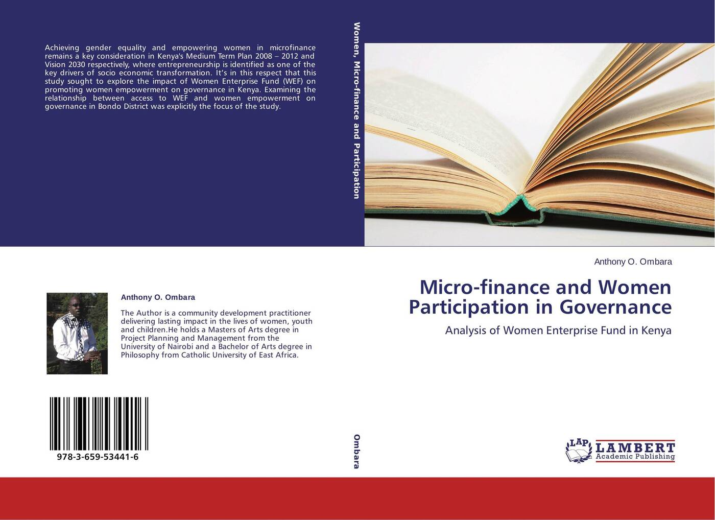 Anthony O. Ombara Micro-finance and Women Participation in Governance