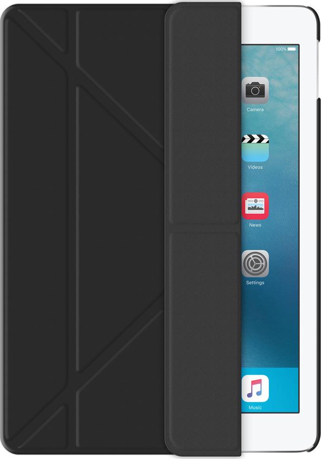 Чехол-подставка Wallet Onzo для Apple iPad Pro 9.7, черный, Deppa