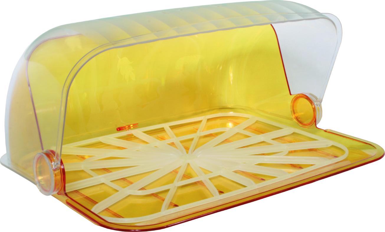 Хлебница Альтернатива М7328 Изобилие мини тонированный-желтый