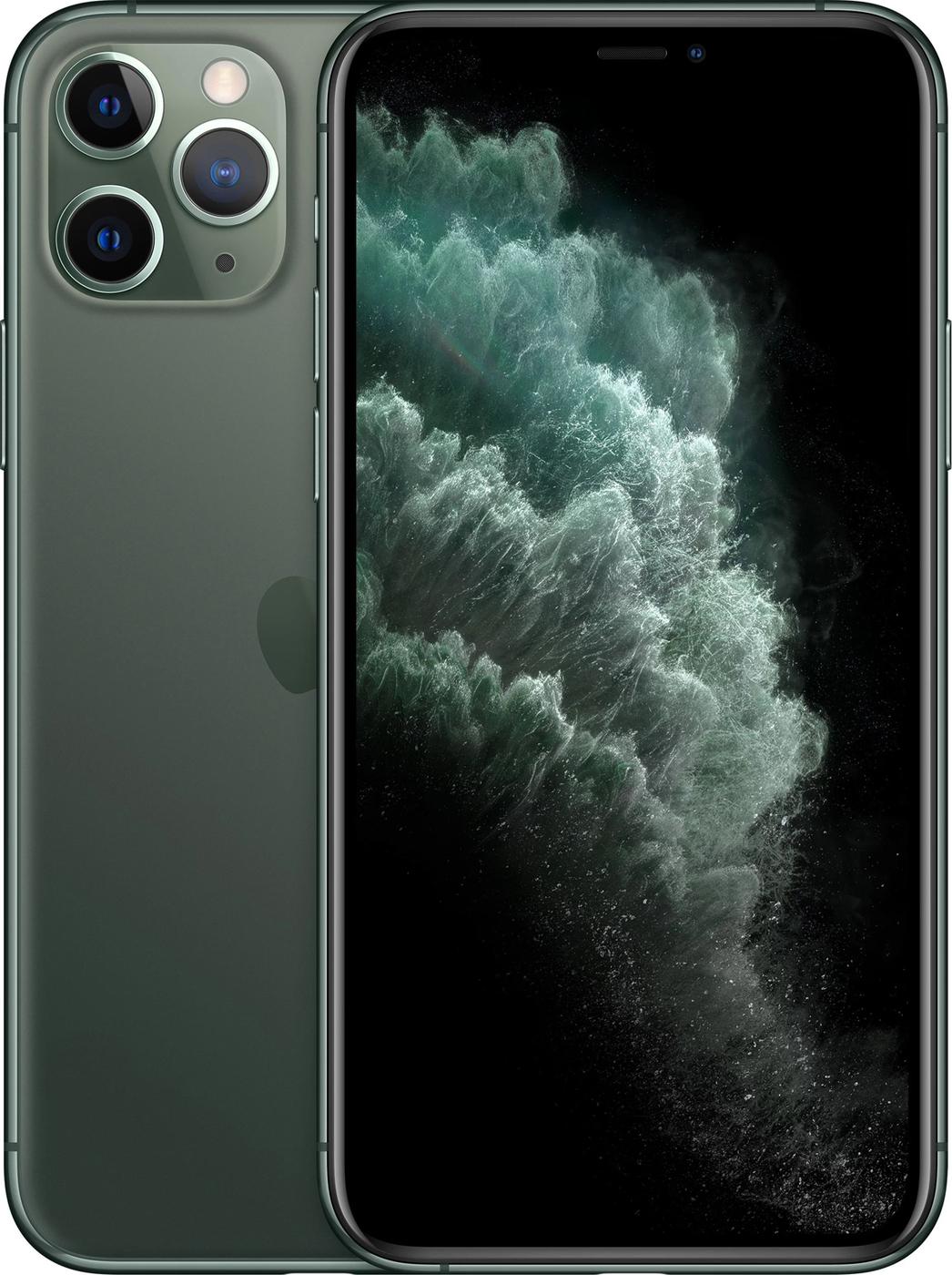 Смартфон Apple iPhone 11 Pro Max 4/256GB, темно-зеленый
