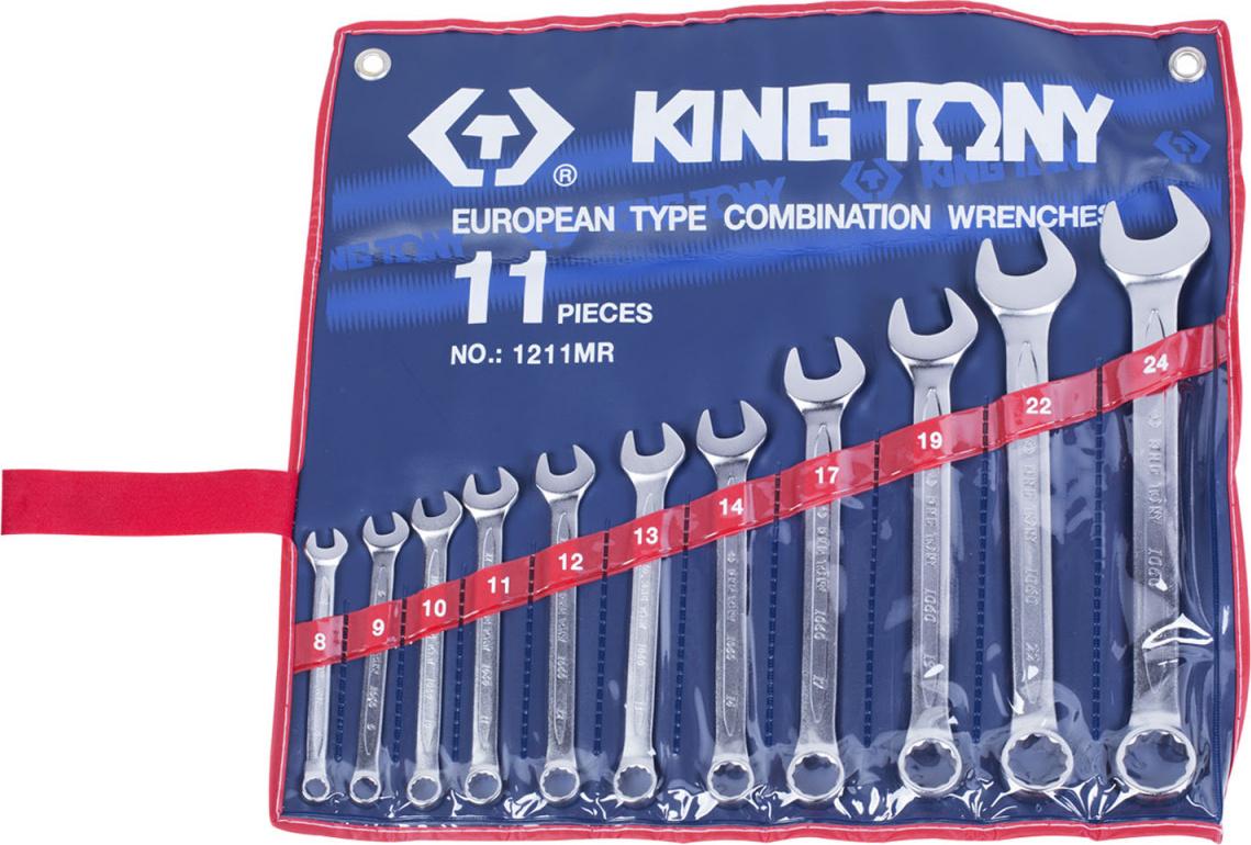 Набор ключей KING TONY 1211MR