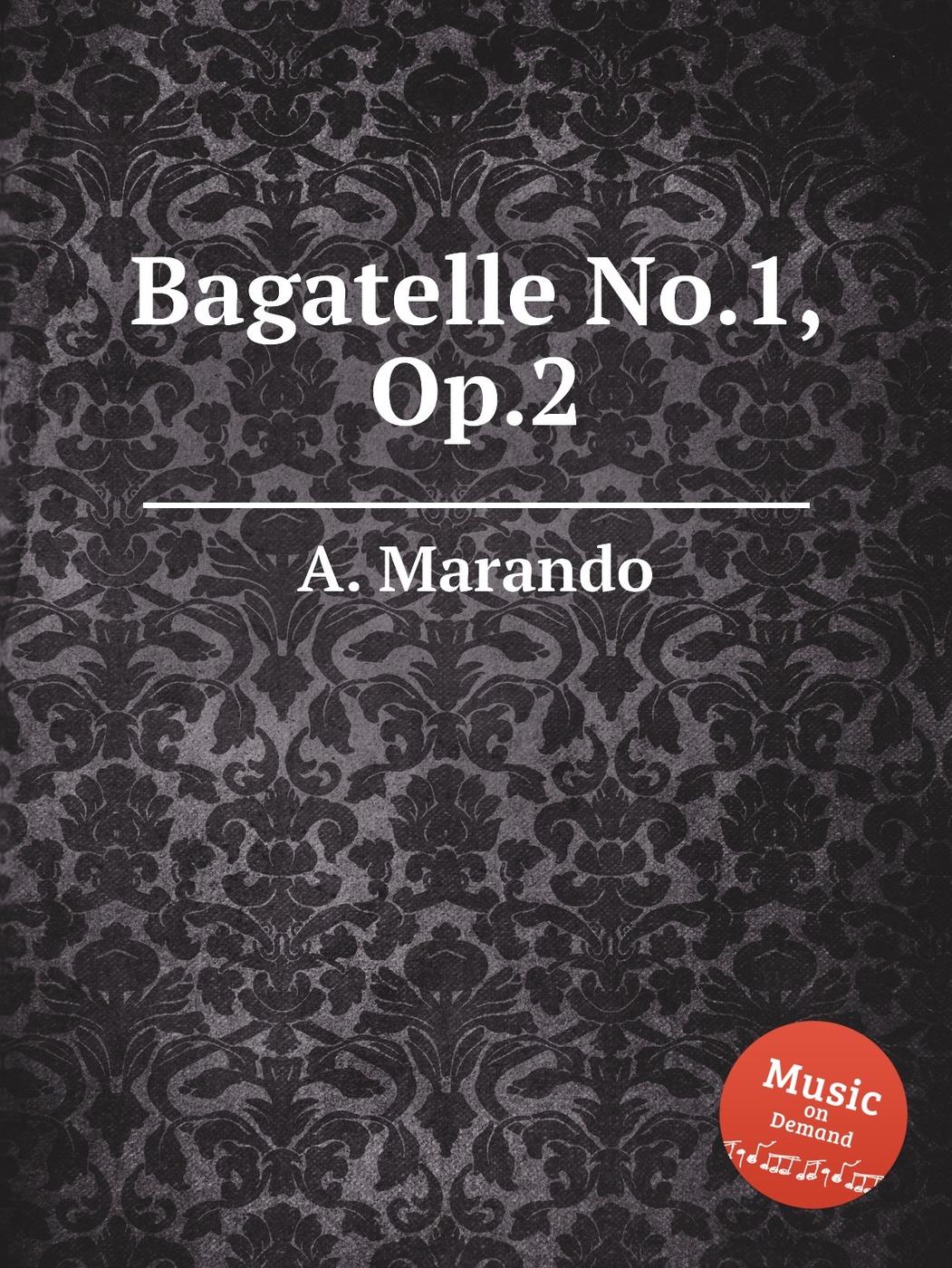Bagatelle No.1, Op.2