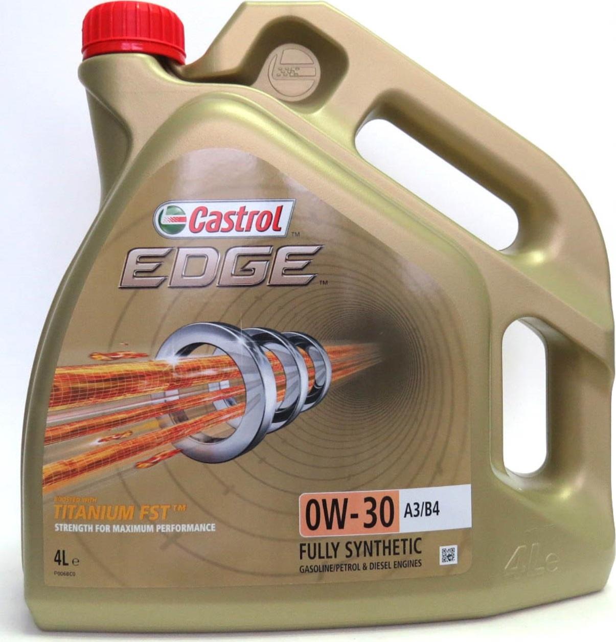 Масло CASTROL EDGE 0W-30(4л)