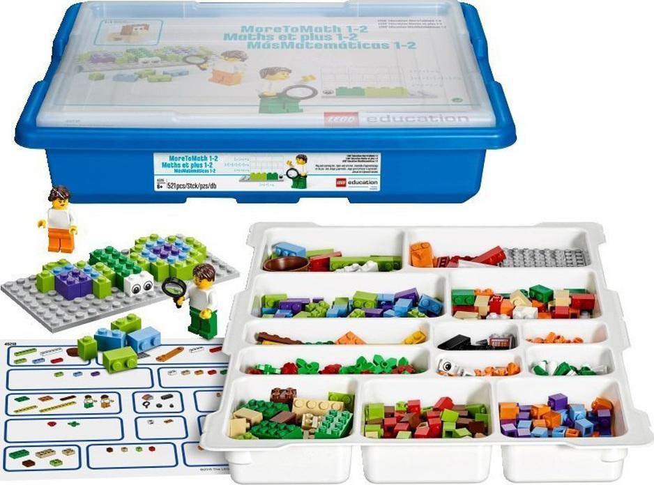 LEGO 45210Базовый набор MoreToMath Увлекательная математика.  1-2 класс и учебные материалы Многие специалисты давно используют кубики LEGO как счётный материал...