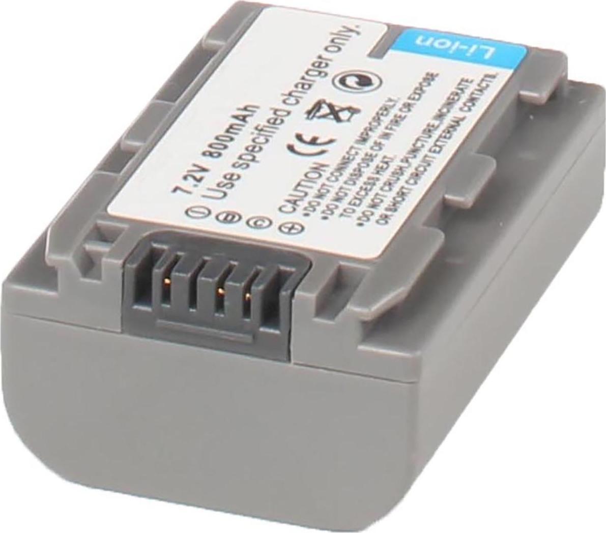 Аккумуляторная батарея iBatt iB-T1-F280 750mAh для камер Sony HDR-HC3, DCR-SR60, DCR-HC23E, DCR-HC17E, DCR-HC26E, DCR-HC35E, DCR-HC30E, DCR-HC96E, DCR-HC18E, DCR-HC32E, DCR-HC19E, DCR-DVD105E, DCR-HC46E, DCR-HC42E, DCR-DVD405E, DCR-HC96, DCR-HC26,