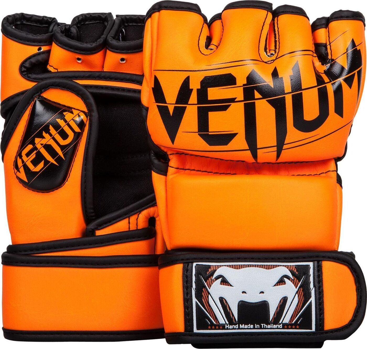 Перчатки ММА Venum Undisputed 2.0, оранжевый, размер М