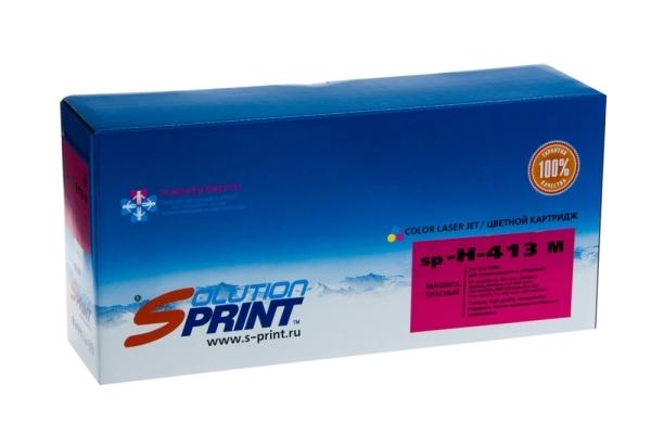 Картридж HP Sprint SP-H-CE413A M, для лазерного принтера, совместимый