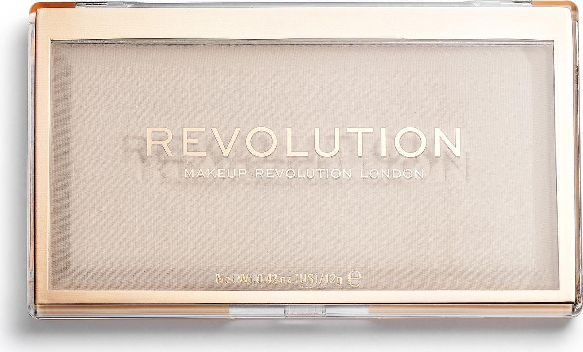 Makeup Revolution Пудра Matte Base Powder, P1, 12 г