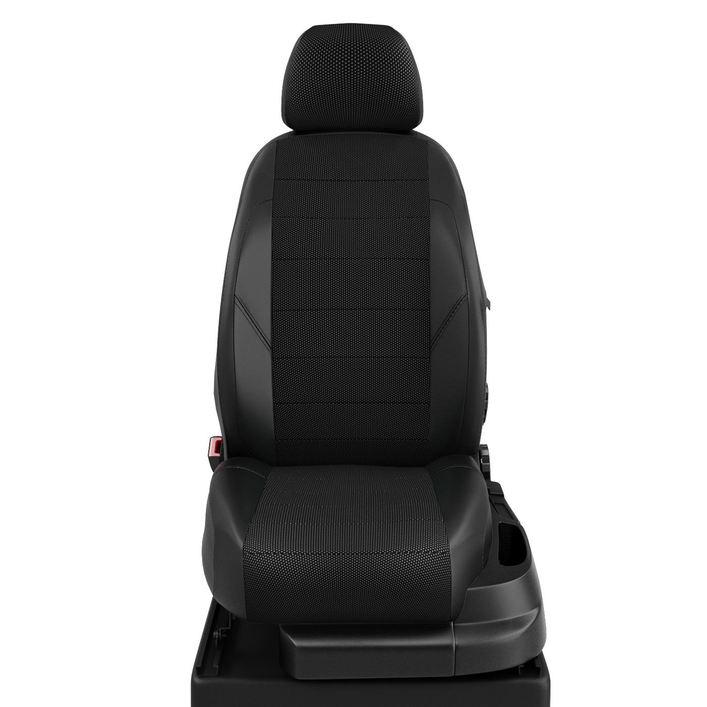 Авточехлы для Citroen C3 Mk 3 AirCross с 2016-н.в. хэтчбек 5дв Задняя спинка 40 на 20 на 40, сиденье 40 на 60, подлокотник в водительской спинке, 5 подголовников