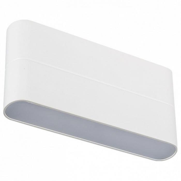 Накладной светильник Sp-wall-1 SP-Wall-170WH-Flat-12W Warm White