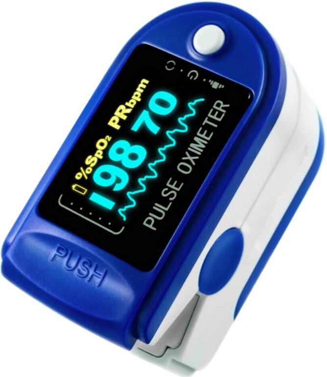 Оригинал ! Пульсоксиметр медицинский (оксиметр) пульсометр на палец для измерения кислорода в крови BLS-1102A